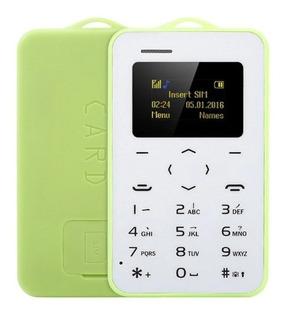 Telefono Celular Basico Ultradelgado Llavero Super Practico