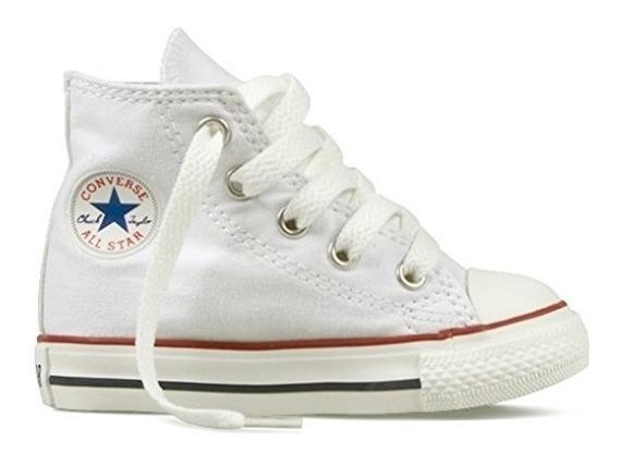 Tênis All Star Infantil Cano Alto Branco - Converse-original