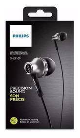 Fone De Ouvido Philips Intra-auricular She9100 Promoção