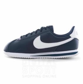 buy popular d0252 b7d4b Tenis Nike Cortez Azul   Talla  3 Y 4.5 Mx (100% Originales)