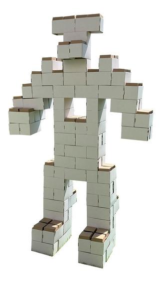 102 Bloques Gigantes De Cartón Mamut Cardboard Toys