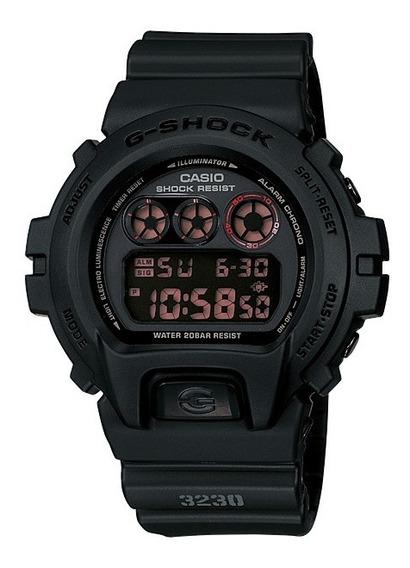 Relógio Casio Masculino G-shock Dw-6900ms 1dr Negativo