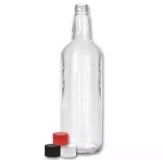 Botellas De Vidrio De 1 Litro, Esterelizadas
