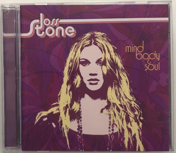 Cd - Joss Stone - Mind Body Soul - Lacrado