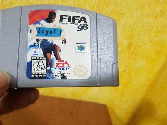 Fifa 98 Usada Original Nintendo 64