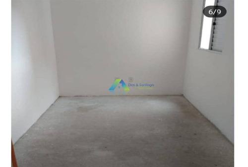 Apartamento Com 2 Dormitórios À Venda, 50 M² Por R$ 235.000 - Vila Eldízia - Santo André/sp - Ap5174