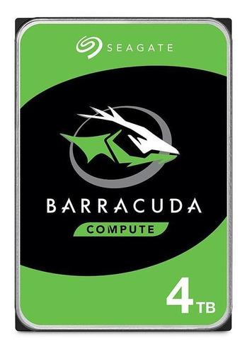 Disco Duro Hhd Interno Seagate Barracuda 3.5  4tb