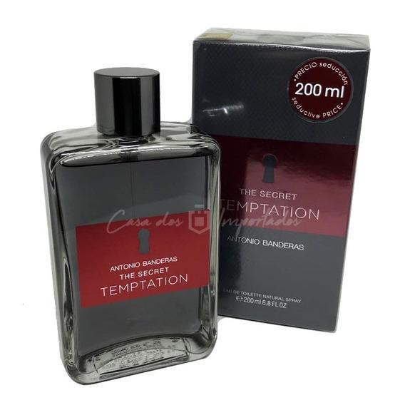 The Secret Temptation 200ml Masculino | Original + Amostra