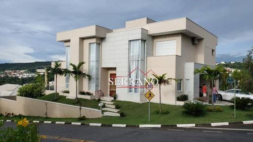 Imagem 1 de 8 de Casa Com 4 Dormitórios À Venda, 380 M² Por R$ 2.300.000,00 - Condomínio Recanto Dos Paturis - Vinhedo/sp - Ca0824