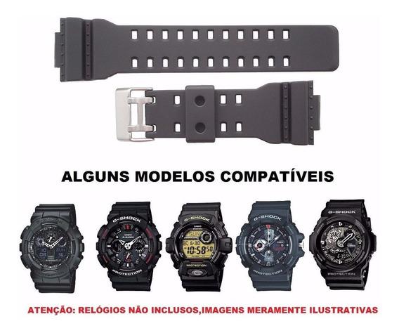 Pulseira Importada Para Relógio Casio G-shock Emborrachada