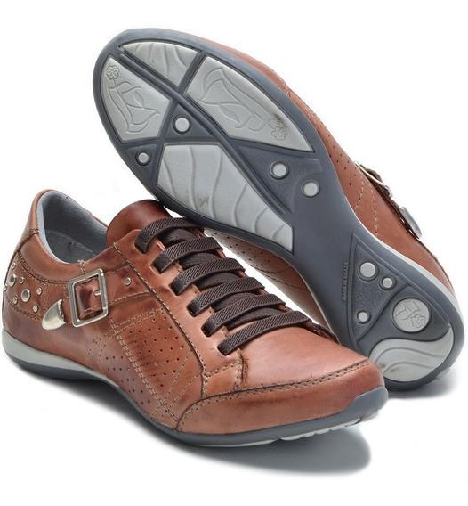 Sapato Feminino Com Amortecedor Com Cadarço Elástico 221