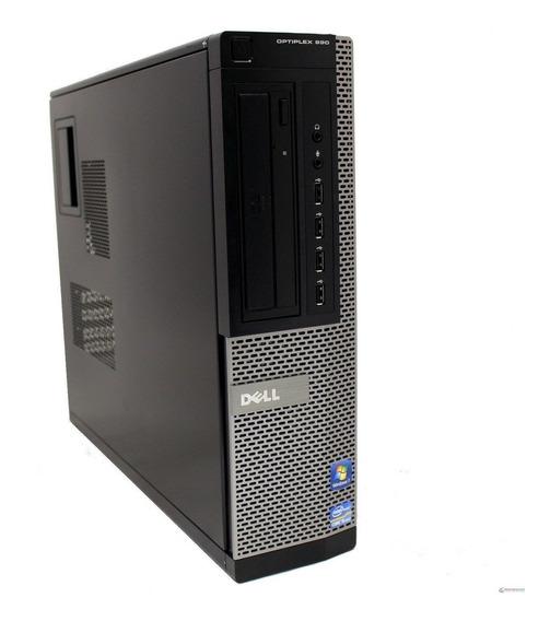 Desktop Dell Optiplex 990 Sff Core I5 4gb Hd 500gb Win10