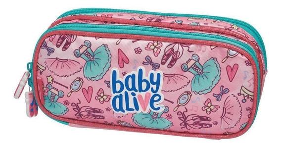 Estojo Duplo Baby Alive Ballet 980a14 Pacific
