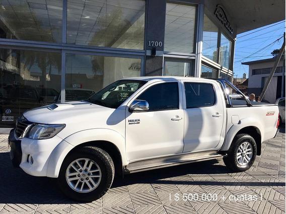 Toyota Hilux Srv 4x2 2013 */ 650000 + Cuotas /*