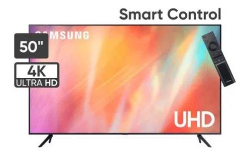 Imagen 1 de 6 de Samsung Televisor 50  Uhd Smart 4k Crystal 50au7000 - Negro
