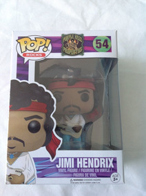 Funko Pop - Jimi Hendrix - Boneco Colecionavel