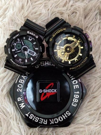 Relógio Importado Kit Casal Gshóks Super Oferta