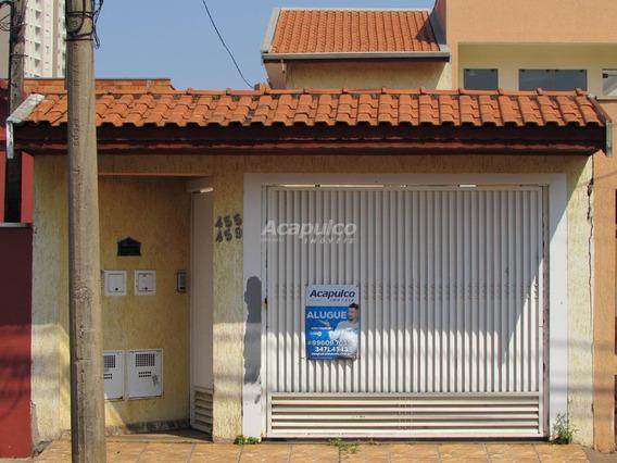 Casa Para Aluguel, 2 Quartos, 1 Vaga, Vila Redher - Americana/sp - 10679