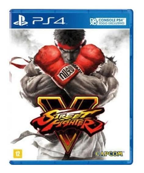 2 Jogos Street Fighter V Ps4 Br