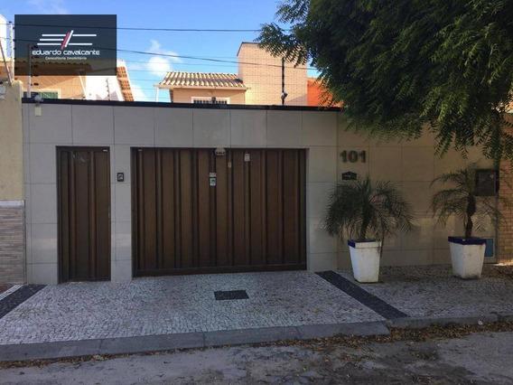 Casa Com 6 Dormitórios À Venda, 190 M² Por R$ 450.000 - Edson Queiroz - Fortaleza/ce - Ca0031