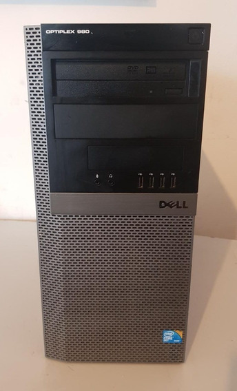 Cpu Dell Optiplex 980 Core I5 8gb Ram 500 Gb Usado Ref: M205