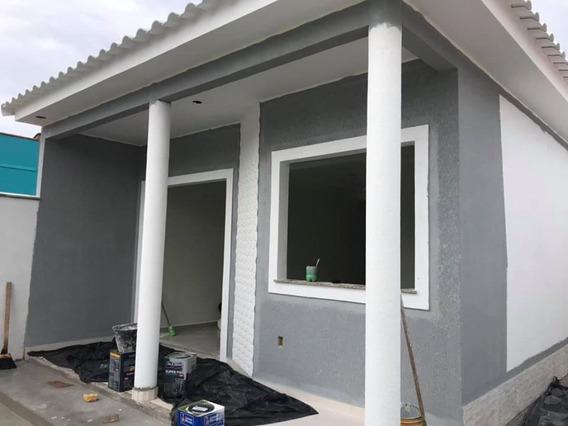 Lançamento! Linda Casa 2 Quartos E Área Gourmet Em Itaipuaçu