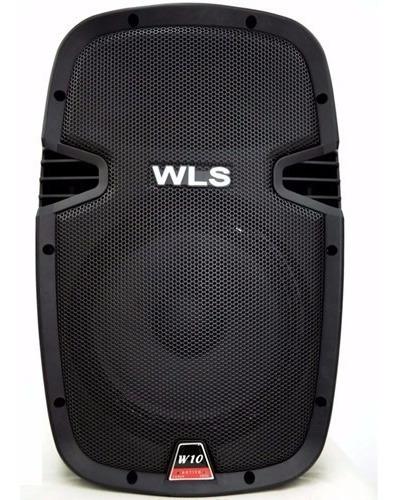Caixa De Som Ativa Wls W10 Af 10 Drive Titanio Bluetooth Usb