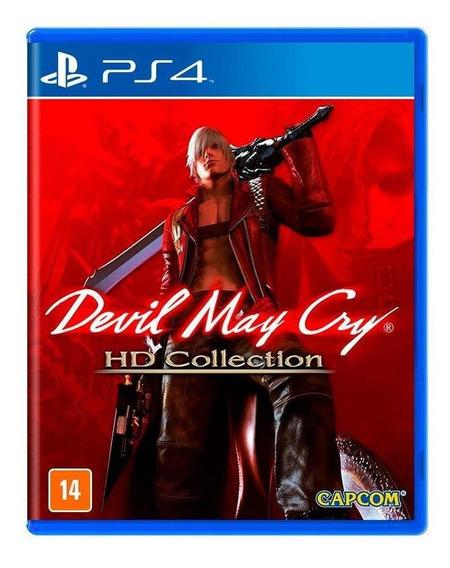 Devil May Cry Hd Collection Ps4 Mídia Física Novo Lacrado