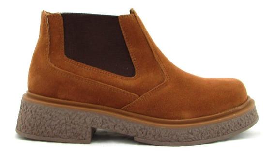 Botas Elástico Mujer Zapatos Botinetas Borcegos Sp-282