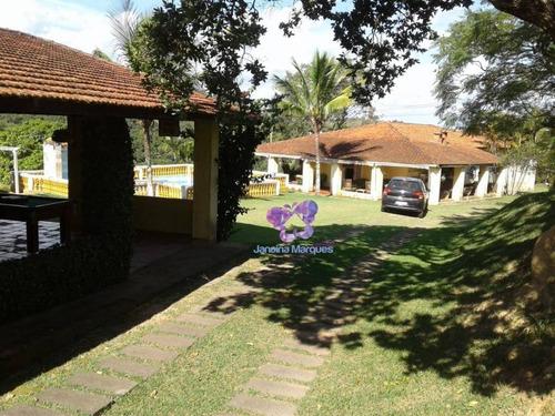 Chácara Com 6 Dormitórios À Venda, 24400 M² Por R$ 800.000,00 - Quedas D'água - Itu/sp - Ch0103