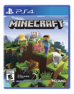 Juego Ps4 Minecraft - Fisico