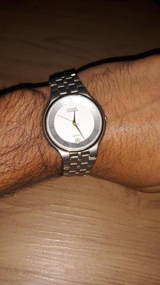 Relógio Citozen Titaniun Wr 50 Original