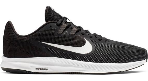 Zapatillas Nike Downshifter 9 Negro Talles Grandes Aq7481002