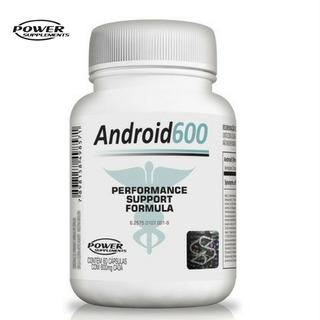 Android 600 Suplemento Pré Hormonal Testo Natur 60capspower