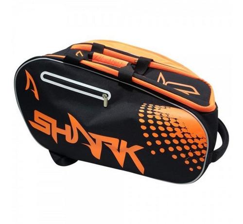 Raqueteira Shark Beach Tennis E Padel 3 Compartimentos