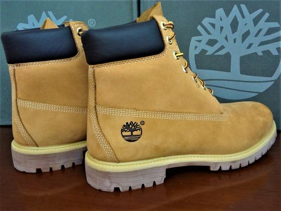 Bota Bege Palha Timberland Yellow Boot Wtph39br Original Imp