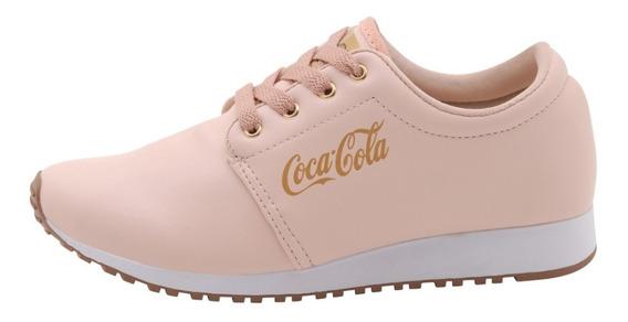 Tenis Coke Cola Coca Cola Feminino Couro Lançamento 2019