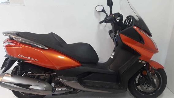 Scooter Kymco Downtown 300i Laranja ( 300km )