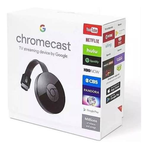 Chomecast 2 Hdmi Lacrado Original + Nota Fiscal