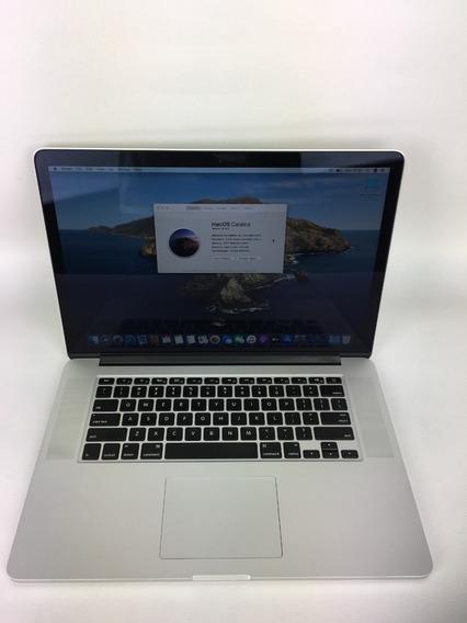 Macbook Pro A1398 I7 2013 15 Pol. 8gb Hd 256gb - 179 Ciclos