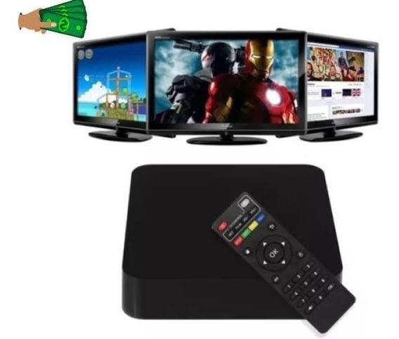Tvbox 4k Transforma Sua Tv Em Smart Tv 2gb Ram 8gb Anatel