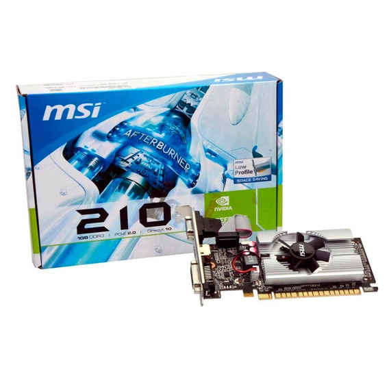 Placa De Video Msi Geforce 210 1gb Ddr3