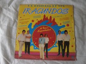 Lp La Historia De Iracundos 1987, Vinil Banda Argentina