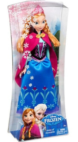 Anna Of Arendelle - Miniatura Importada Mattel Disney Frozen