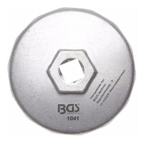 Imagen 1 de 1 de Llave Filtros De Aceite 1/2 | 14 Caras | Ø 74 Mm | Bgs 1041