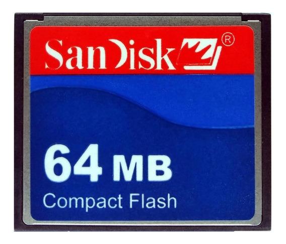 Cf Cartão Compact Flash Sandisk 64mb 15mb/s Fanuc Romi