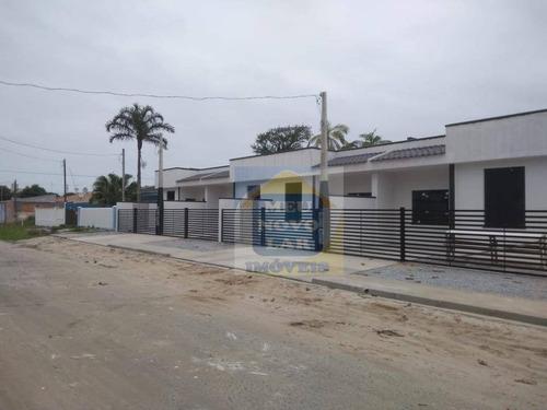 Casa Com 2 Dormitórios À Venda, 50 M² Por R$ 180.000,00 - Monções - Pontal Do Paraná/pr - Ca0396