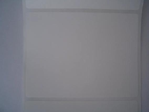 Etiqueta 100x75mm Bopp Fosco Para Congelados