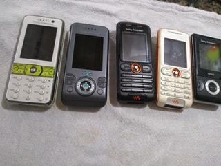 Lote 4 Celular Sony Ericsson