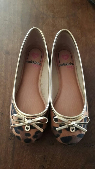 Zapatos Para Niña Talle 28 Estampado En Animal Print